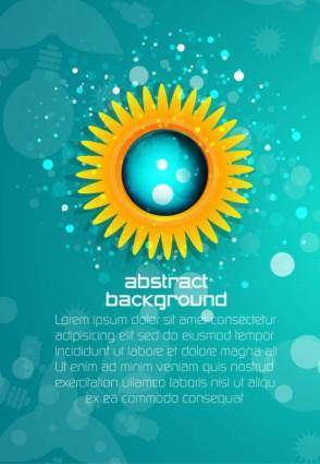 free vector Beautiful posters 01 vector