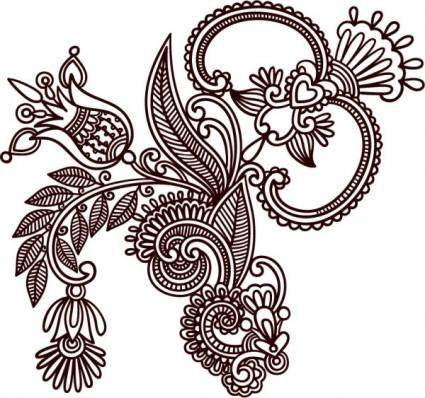 free vector Handdrawn patterns 03 vector