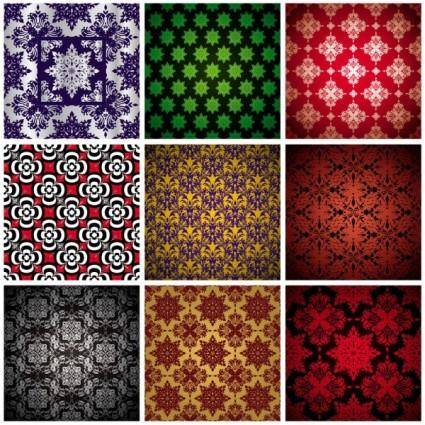 free vector Color shading pattern vector