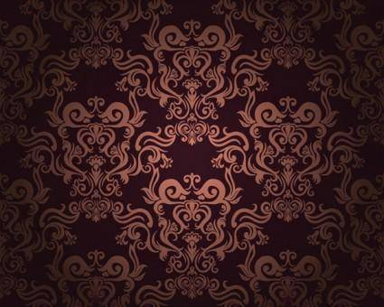 free vector European super beautiful shading pattern vector 2