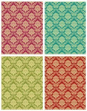 Gorgeous shading pattern 02 vector