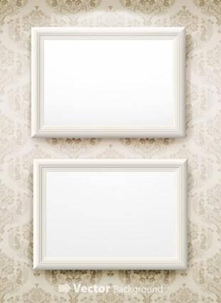 Blank frame vector 2