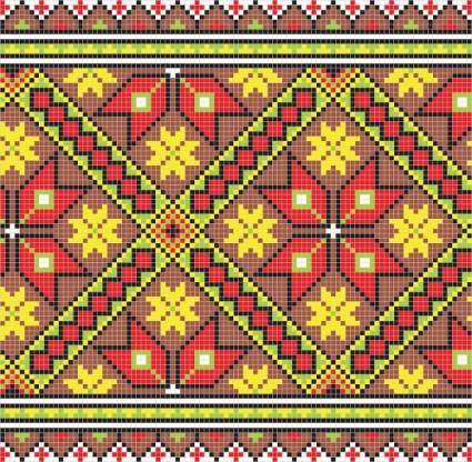 Pixel pattern 03 vector