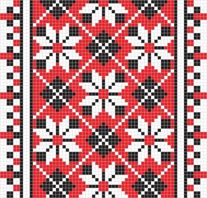 free vector Pixel pattern 05 vector