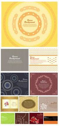 free vector 01 gorgeous shading pattern vector