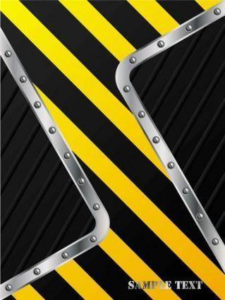 Stripe construction design 05 vector