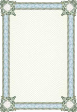 free vector Classic pattern border security 02 vector
