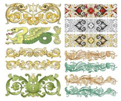 free vector Chinese classical pattern vector pattern