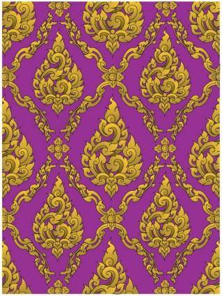 European gorgeous classical pattern vector