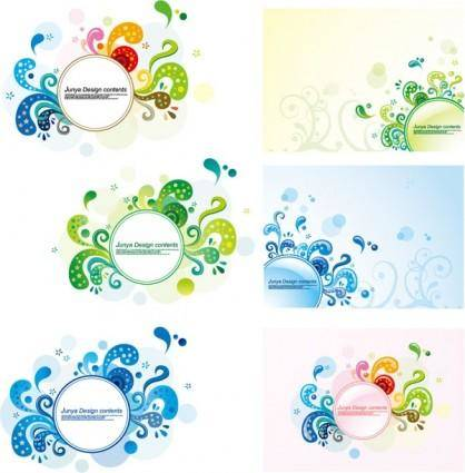 Trend patterns element vector 3