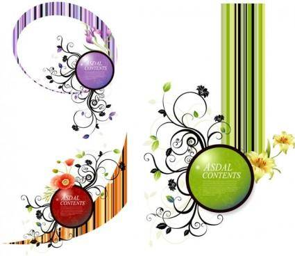 Trend patterns element vector 5
