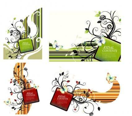 Trend patterns element vector 6