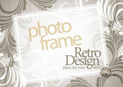 free vector Elegant design of the text box decorative shading pattern vector 1