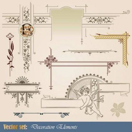 Europeanstyle pattern 01 vector