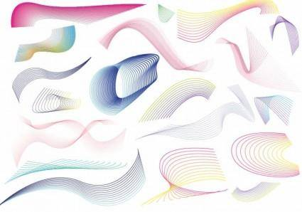 free vector 20 Lines Swirls and Patterns Vector Graphic