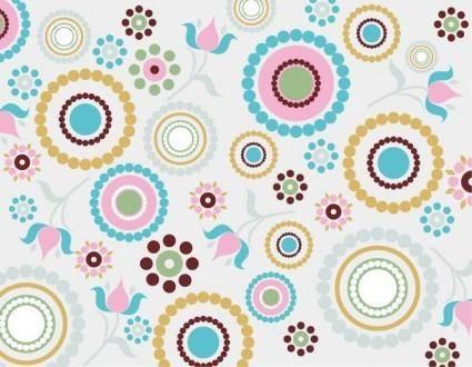 Vector Retro Pattern Background