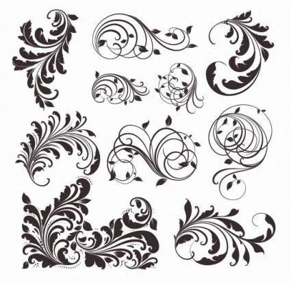 free vector Vector Vintage Patterns for Design