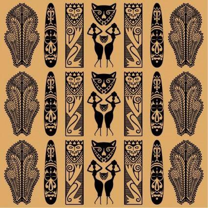 free vector Traditional African Pattern Vector