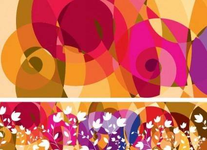 Free Fashion Pattern Vector Background