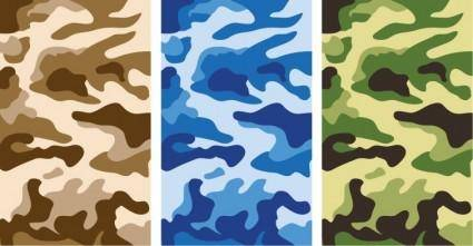 free vector Camouflage Pattern Vector Graphics