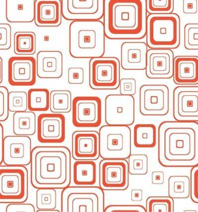 free vector Vector Seamless Retro Pattern With Rounded Squares