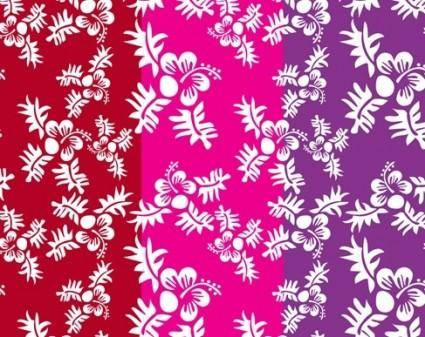 free vector Free Vector Seamless Flower Pattern