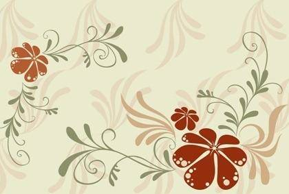 free vector Beautiful background pattern vector material Series 1