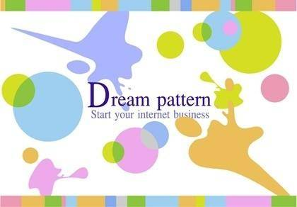 free vector Free Vector Dream Pattern Background