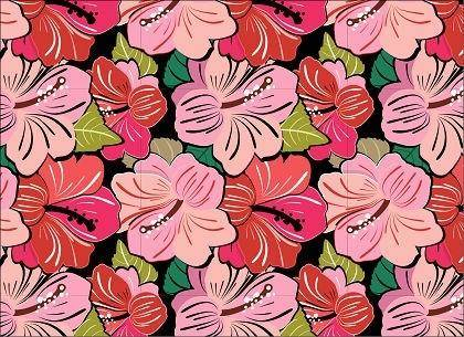 free vector Free Very flowery Pattern Vector