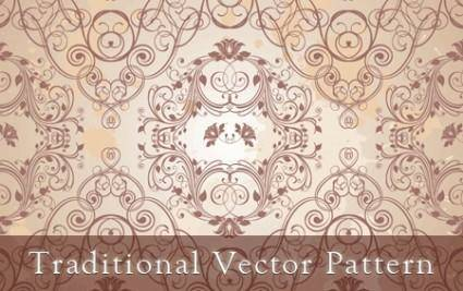 free vector Traditional Vector Pattern