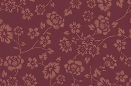 free vector Great  Vector Pattern With Flowers