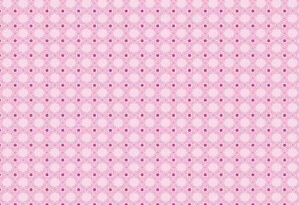 Pink Rose Pattern Vector