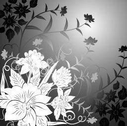 free vector Flower pattern