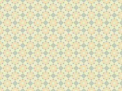free vector Diamonds and Gears pattern