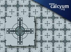 free vector Cross pattern