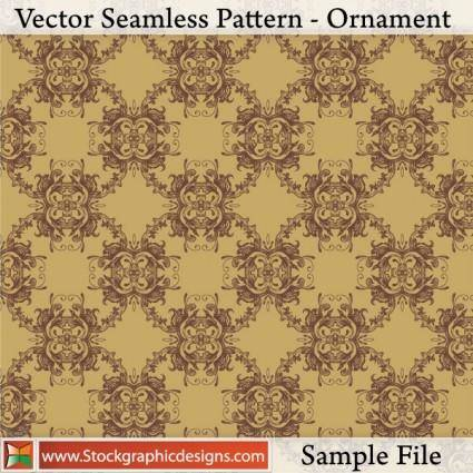 Vector Seamless Pattern-Ornament