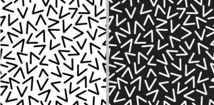 free vector Pattern of Random Vs