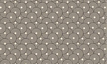 free vector Crazy Circles Free Seamless Pattern