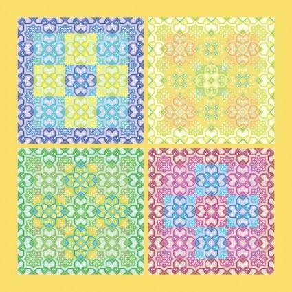 free vector Ornamental Pattern Vector