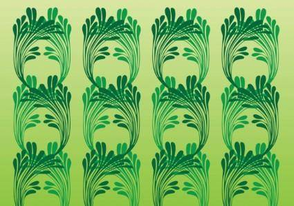 free vector Art Nouveau Vector Pattern