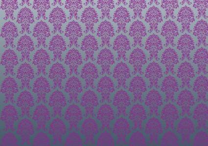 free vector Luxury Wallpaper Pattern