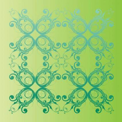 free vector Spring Nature Pattern