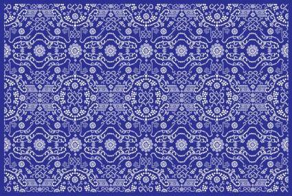 free vector Detailed Flower Pattern
