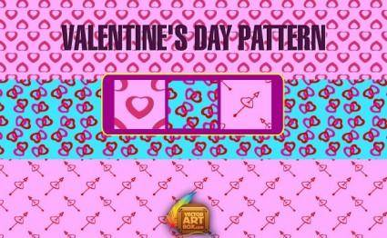free vector Hearts Seamless Pattern