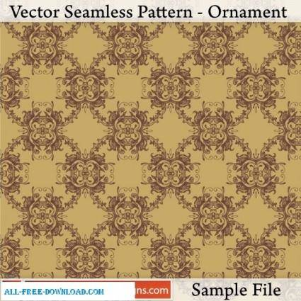free vector Vector Seamless Pattern Ornament