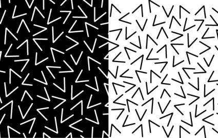 free vector Pattern of Random Vs