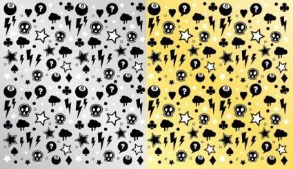 free vector Punk Rock Pattern