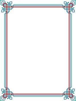 Frame Vector Pattern 10