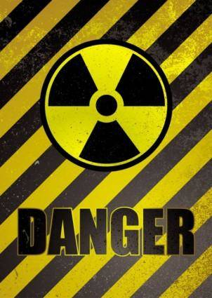 Nuclear warning signs 01 vector