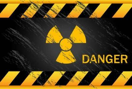 free vector Nuclear warning signs 05 vector